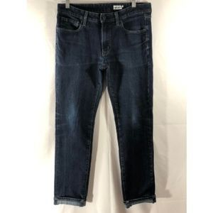 Uniqlo Women 31x34 Blue Dark Wash Skinny Fit Jeans